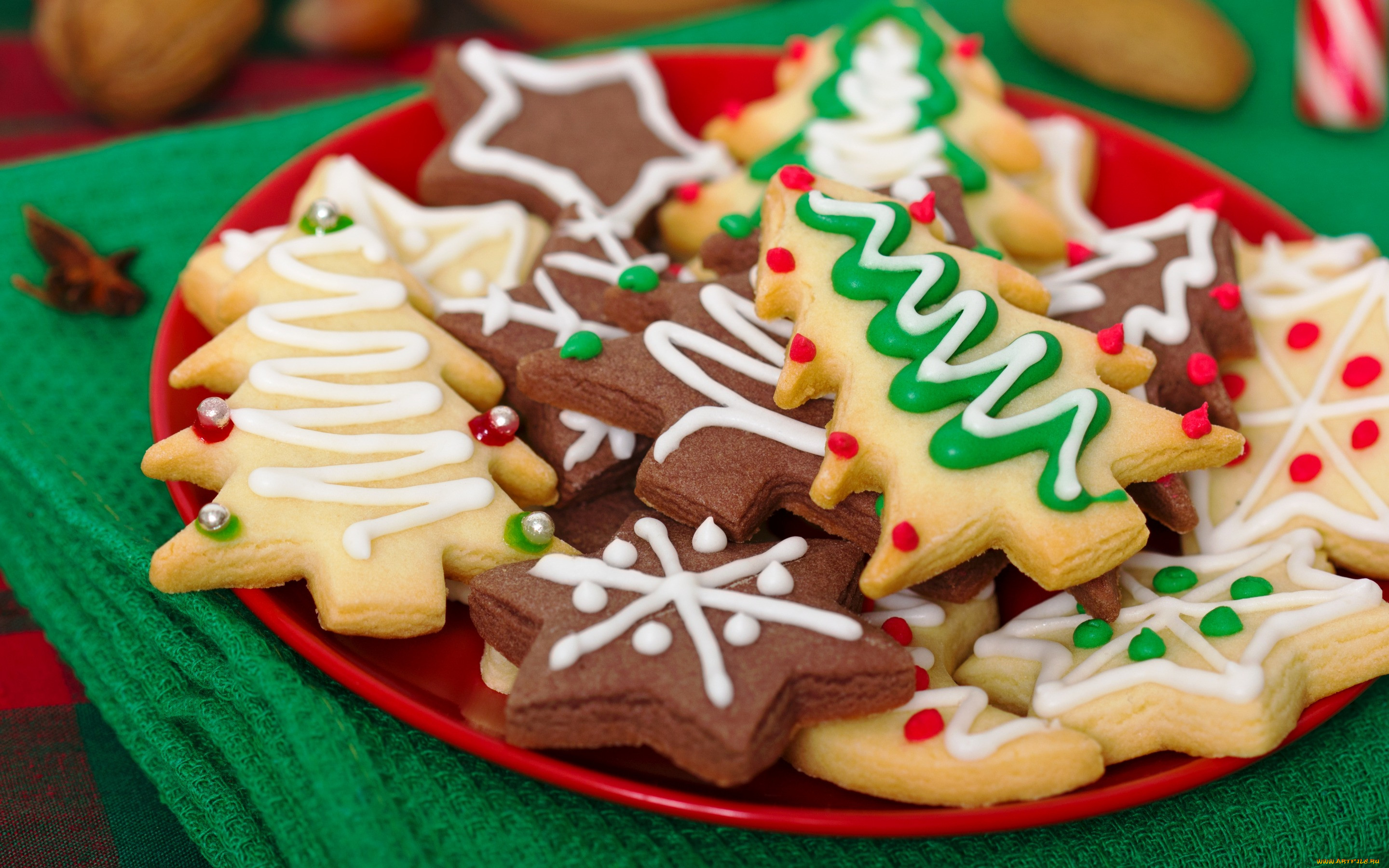 Обои christmas, cookies, decoration, рождество, xmas, Merry. Новый год foto 15